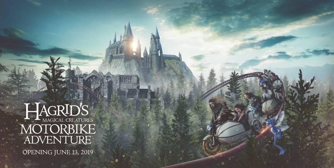 Hagrid's Motorbike Adventure