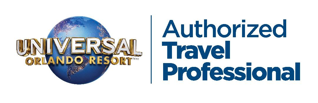 Authorized Universal Orlando Travel Professional Logo