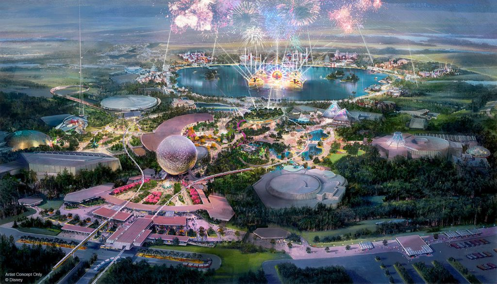 multi-year transformation of Epcot®