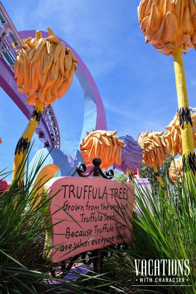 Truffula Trees in Seuss Landing