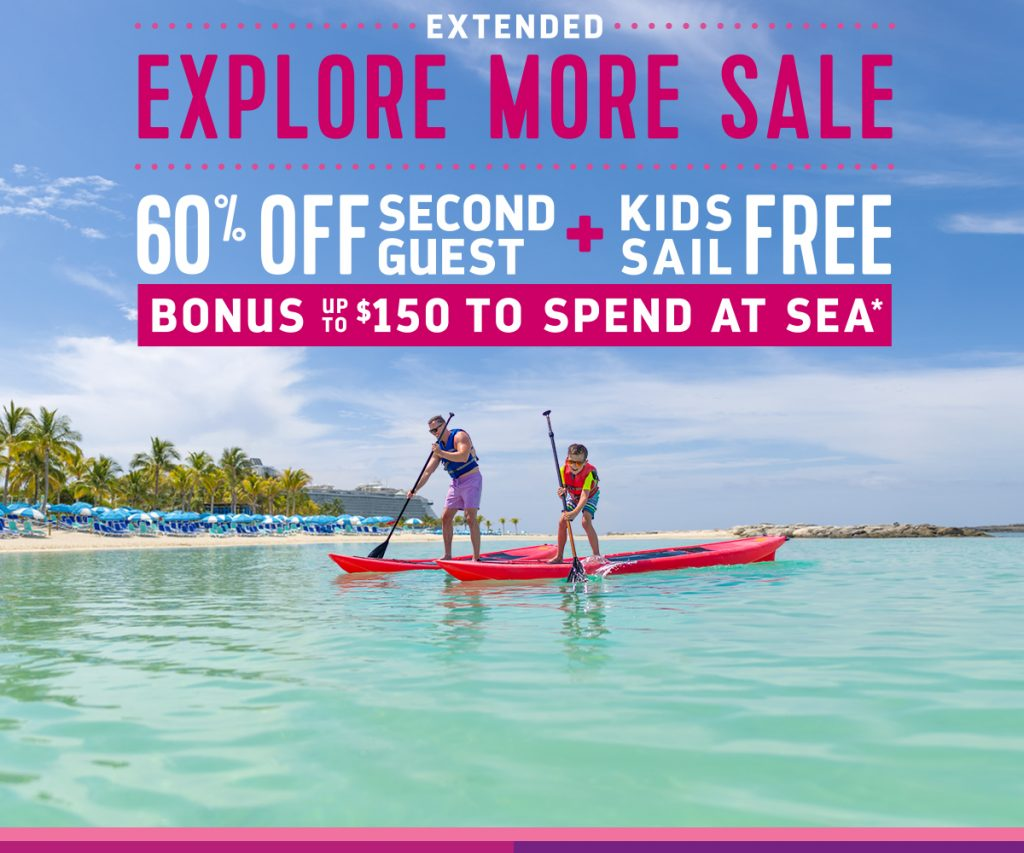 Royal Caribbean Explore More Sale 2020